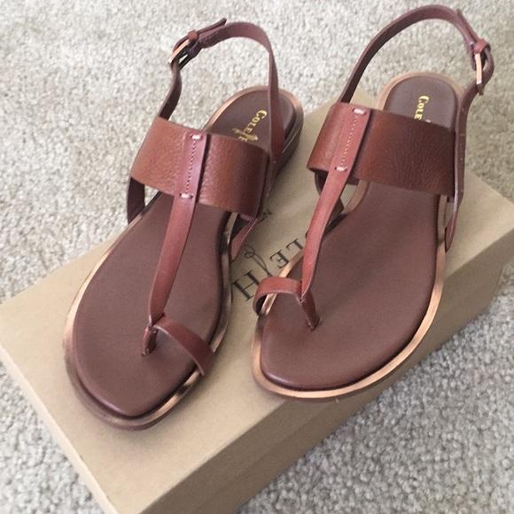 a6973df2b Cole Haan Shoes - Cole Haan Pelham Strap Sandal Brown Size 6